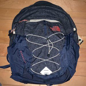 The North Face Women's Navy Borealis Backpack